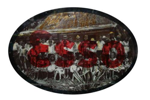 Progr-esso,2015,mixta metal ,150 x 230 cm