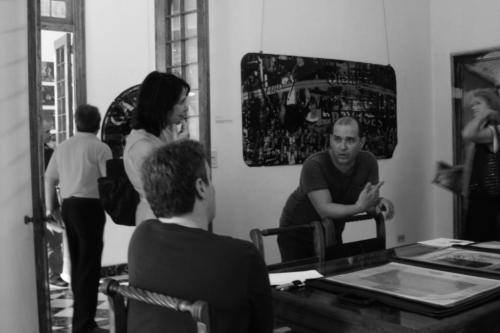 Nina Menocal and friends at Kadir studio